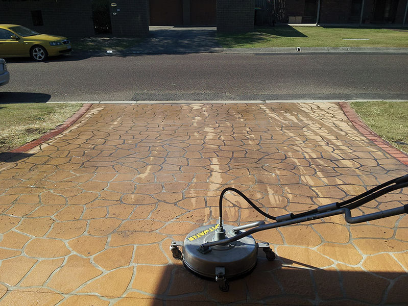 Driveway cleaning hygeia cleaning service for Driveway cleaning companies