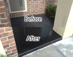 Concrete Sealing Front Porch - Hygeia Cleaning Service