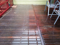 Timber Deck Cleaning